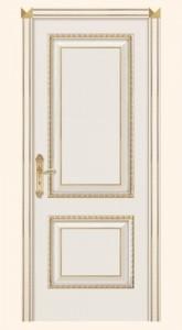 Турин – D ДГ эмаль белая, патина золото
