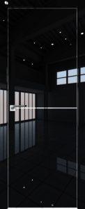 12LK Черный люкс мат.кромка AL молдинг