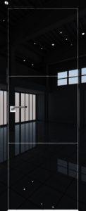 2LK Черный люкс мат. кромка AL молдинг