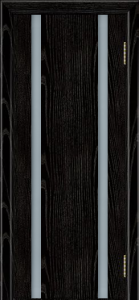 Камелия К2 тон 26 черная эмаль ст. триплекс белый