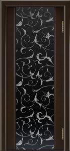 Камелия тон 12 ст. Кружева черный триплекс