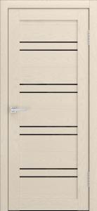 Канна 54 Софт айвори ст. черная лакобель
