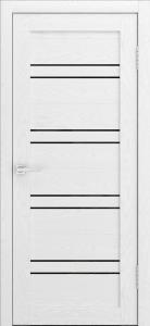 Канна 54 Софт белый ст. черная лакобель