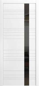 Корсо ЛП-14 Б Эмаль Белая ст.Черный лак