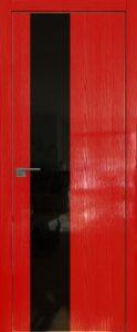 5STK Pine red glossy мат.кромка ст.черный лак