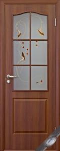 Дверь ПВХ п/о + Рисунок 1
